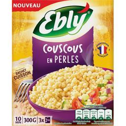Ebly Ebly Couscous en perles les 3 sachets de 100 g