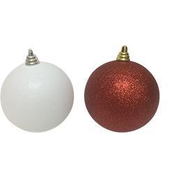 Boule de Noël paillettes coloris assortis