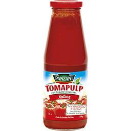 Panzani Panzani Purée Tomapulp aux tomates fraîches nature le bocal de 700 g