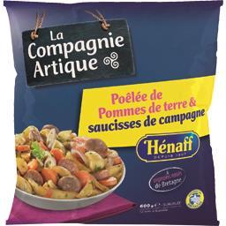 Poêlée de pommes de terre & saucisses de Camargue Hénaff