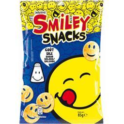Biscuits apéritif Smiley Snacks goût salé