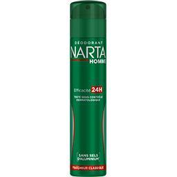 Narta Narta Homme - Déodorant Efficacité 24h fraîcheur classique