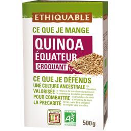 Quinoa Equateur croquant BIO