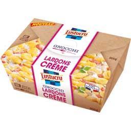 Gnocchi lardons crème