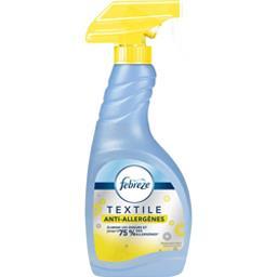 Textile - anti-allergènes - spray désodorisant