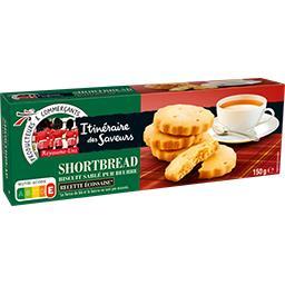 Biscuit sablé Shortbread pur beurre recette écossais...
