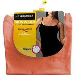 Caraco Skinwear bretelles fines taille 1/2 corail
