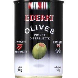 Olives à la farce de piment d'Espelette