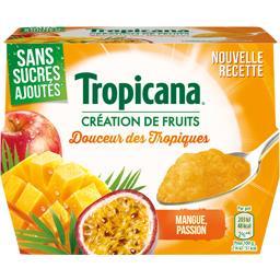Dessert de fruits Douceur des Tropiques s/sucres ajo...