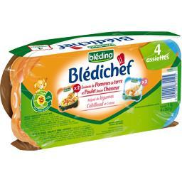 Blédichef - Pommes de terre poulet/légumes cabillaud...