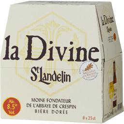 Biere de saint landelin