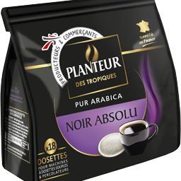 Sortilège, dosettes de café pur arabica classic