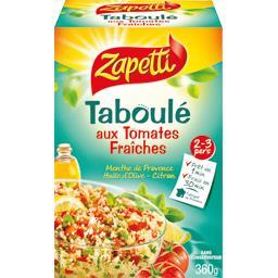 Taboulé aux tomates fraîches