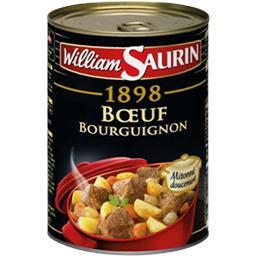William Saurin William Saurin 1898 - Bœuf bourguignon la boite de 400 g