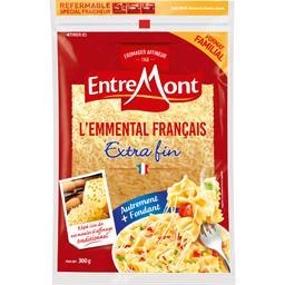 Entremont Entremont L'Emmental français extra fin le sachet de 300 g