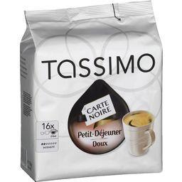 Carte Noire - Dosettes de café moulu petit-déjeuner doux