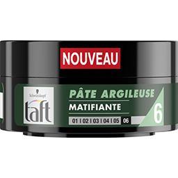 Taft - Pâte argileuse matifiante 6