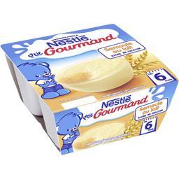 P'tit Gourmand - Semoule au lait, 6+ mois
