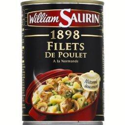1898 - Filet de poulet à la Normande, mitonné doucement