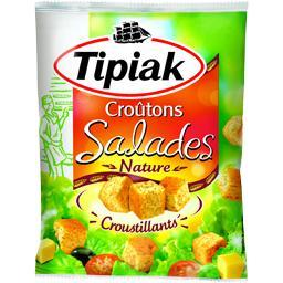 Croûtons pour salades, nature et croustillant