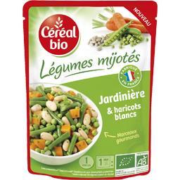 Légumes Mijotés - Jardinière & haricots blancs BIO