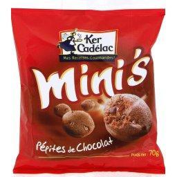 Mini's pépites de chocolat