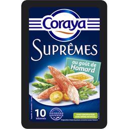 Bâtonnets Suprêmes au goût frais de homard
