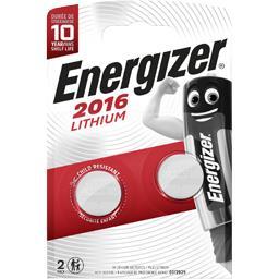 Piles 2016 Lithium 3V