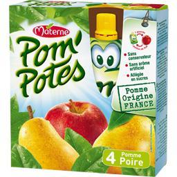 Pom'Potes - Dessert fruitier pomme poire