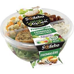 Mon Atelier - Salade fromagère & tartinable à la ric...