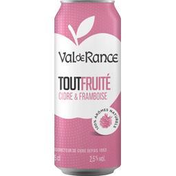 Cidre & framboise Tout Fruité