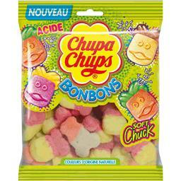 Bonbons acidulés Soft Chuck