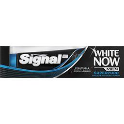 White Now - Dentifrice Super Pure Men