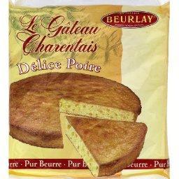 Le gâteau charentais, délice poire, pur beurre