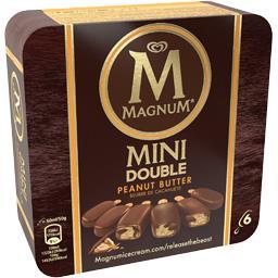 Bâtonnets de glace Mini double beurre de cacahuète