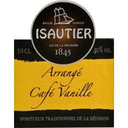 Spiritueux arrangé café vanille