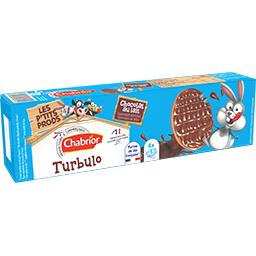 Biscuits Turbulo chocolat au lait