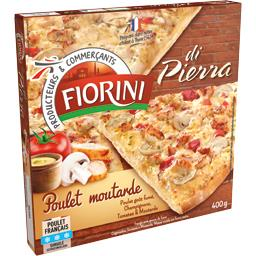 Di Pierra - Pizza poulet moutarde