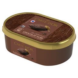 Carte d'Or Carte d'Or Les Authentiques - Crème glacée chocolat noir le bac de 500 g