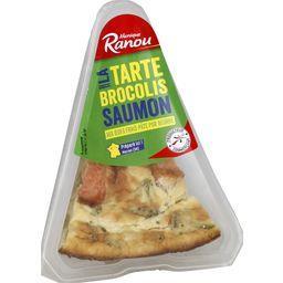 Mon Snack ! - Tarte brocolis saumon pur beurre