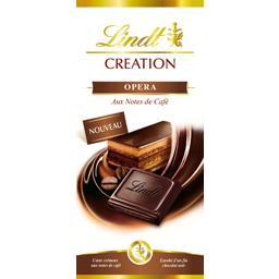 Création - Chocolat noir Opéra aux notes de café