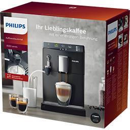 Philips Philips Machine espresso Super Automatique avec mousseur lait noir HD8824/01 la machine