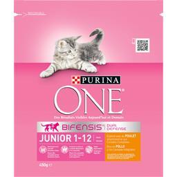 Croquettes Junior 1-12 mois, poulet & céréales pour ...