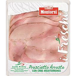 Montorsi Montorsi Jambon rôti aux herbes Prosciutto Arrosto la barquette de 120 g