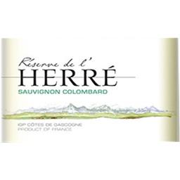 Côtes de Gascogne Réserve de L'Herré - Sauvignon Colombard vin Blanc sec 2017
