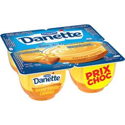 Danette - Crème dessert saveur vanille caramel
