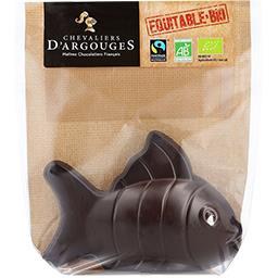 Chevaliers d'Argouges Poisson noir BIO le paquet de 70 g