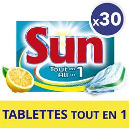 Tablette lave-vaisselle Tout en 1 citron