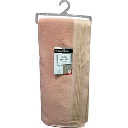 Drap de bain 100x150 cm doré rose
