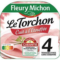 Le Torchon - Jambon cuit à l'étouffée sans couenne